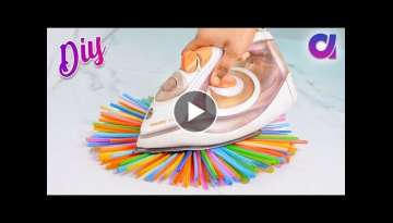 10 genius Drinking Straw Craft ideas to make in 5 minutes