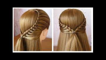 very easy hairstyle