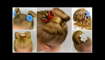 5 CUTE & EASY HEATLESS BACK TO SCHOOL HAIRSTYLES