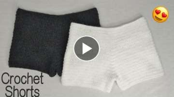 Crochet Shorts Tutorial