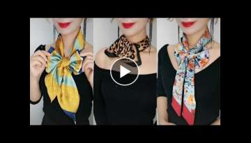 19 Scarf Tips To Help You Feel More Confident When Going Out .