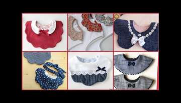 Baby Girls Collars/ Bibs Designs Collection