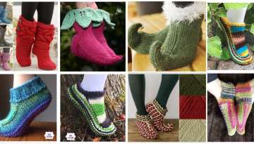 Knitting Boots