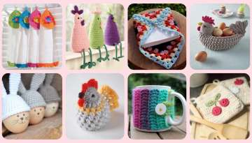 crochet kitchen presentation ideas