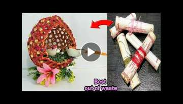 DIY Best out of waste Thread Spools