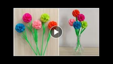 Beautiful Paper Flower Making