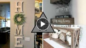 2019 DIY Modern & Trendy Home Decorating Ideas