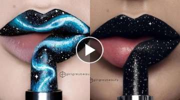 lipstick Tutorials Compilation !