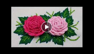 Make Amazing Flower Hand Stitch
