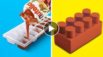 Kitchen Tricks, DIY Food Decor Ideas and Easy Recipes
