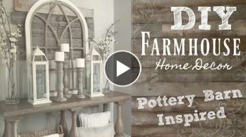 DIY industrial farmhouse style home decor