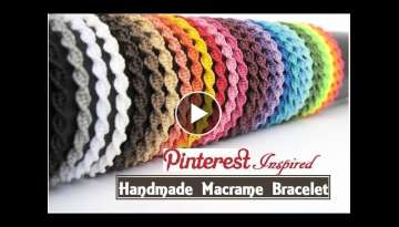 How To Make Macrame Bracelets
