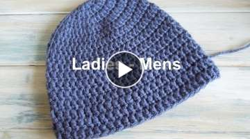 Crochet a Simple Beanie for Ladies