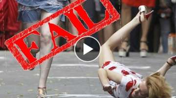 High Heels Fail Compilation - High Heels fall