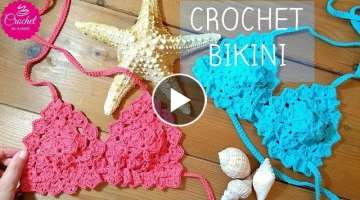 HOW TO CROCHET A BIKINI TOP FOR WOMEN