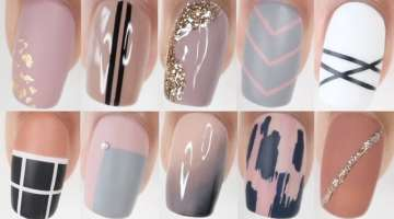 100 EASY nail ideas