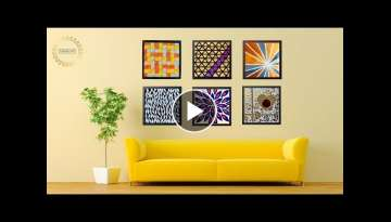 6 Hyper Easy Wall Art Ideas for your Living Room