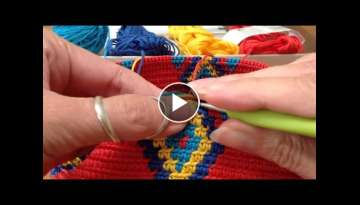 Mochila, how to prevent the yarns from tangling