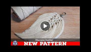 DIY Macrame Feathers Tutorial