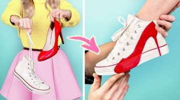 Transform It! 21 Fashion Clothing Hacks