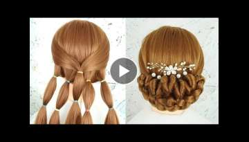 Bun Hairstyle For Wedding Step By Step