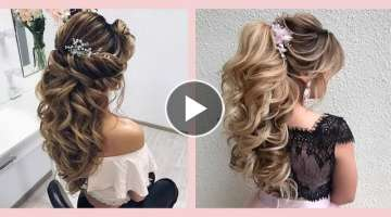 Curly Prom Hairstyles for Medium Long Hair
