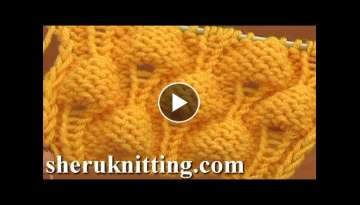 Knitting Strawberry Stitch Pattern