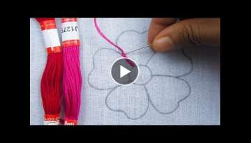 Easy Flower Embroidery