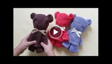 How to A TOWEL LITTLE BEAR