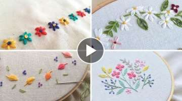 Try this flower designs for baby and kids dresses