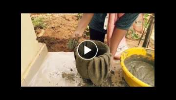 DIY Cement craft ideas