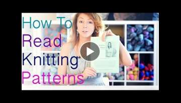 How to Read Knitting Patterns