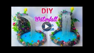 DIY:Hot Glue Waterfall