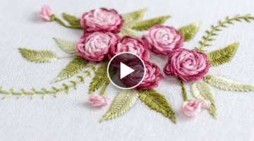 Stitch Your Flower Patterns with HandiWorks