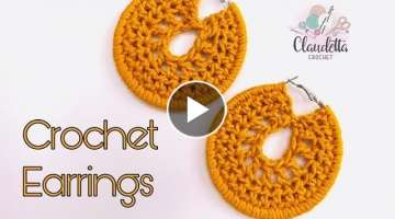 CROCHET EASY EARRINGS
