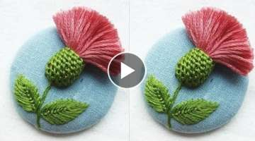Simple & Easy Hand Embroidery tutorial
