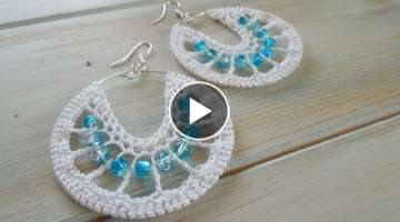 (crochet) How To Crochet Earrings
