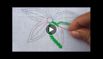 Easy Flower Embroidery Design