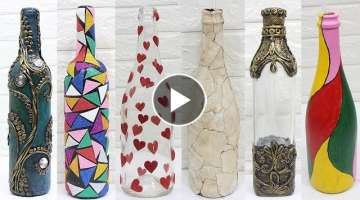 10 Diy glass bottle decoration ideas