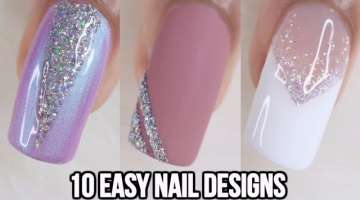10 EASY NAIL ART COMPILATION