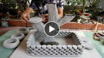 Creative With Cement For Your Garden