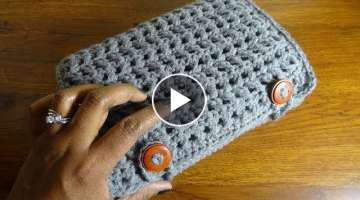 Tri-Fold Crochet Hook Case
