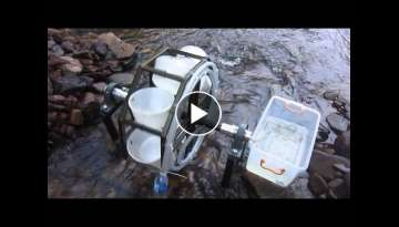 Mechanical Spiral water pump