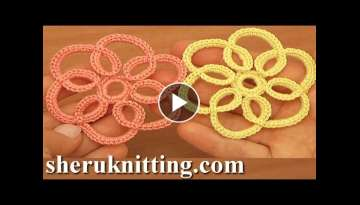 How to Crochet Simple Flat Flower