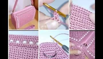 Crochet || Tutorial Crochet Bag