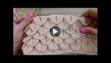 Shortcut Crocodile Stitch