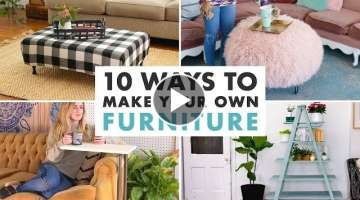 10 DIY Furniture Projects