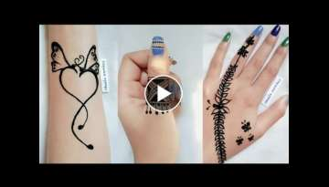 2019 Beautiful Simple & Easy Stylish Mehndi Design