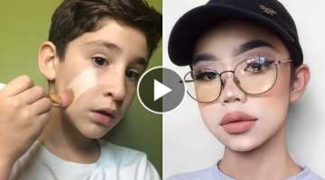 Amazing ... Boy Kids Makeup Tutorial Compilation 2019