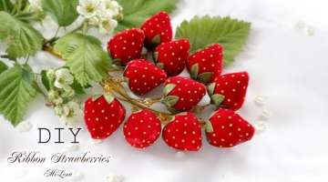 Velvet Ribbon Strawberries
